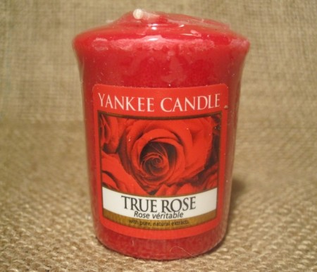 True Rose smeltelys.
