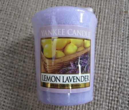 Lemon Lavender smeltelys.
